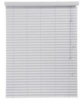 decor depot 50mm fauxwood venetian blinds grey 1600mm x curtain