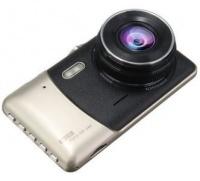 Dash Cam with Wide Angle Dual Camera Reversing Recorder Car DVR