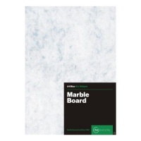 RBE Project Board 160gsm Marble Blue A4