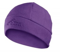 first ascent ladies beanie purple accessory