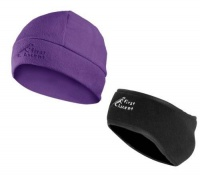 first ascent ladies earmuff beanie purple accessory