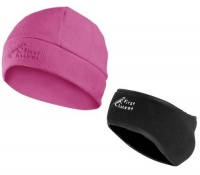 first ascent ladies earmuff beanie pink accessory