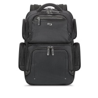 solo lexington backpack laptop bag black