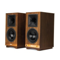 klipsch the sixes music system powered bookshelf speakers audio video software