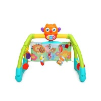 hola 5 in 1 baby play gym with music and lights walker