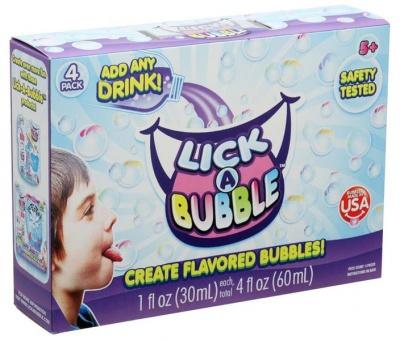 Lick A Bubble Lick A Bubble 4 Pack