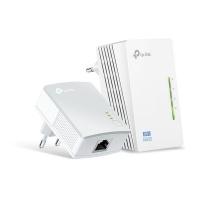 tp link av600 wi fi powerline extender starter kit white