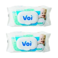 voi baby wet wipes 2 pack 72 pieces wipe