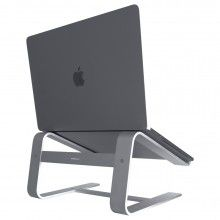 Photo of Apple Macally Aluminium Stand for Macbook/ Notebook - Space Grey