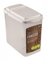 lock and 16 litre dry food rectangle food storage