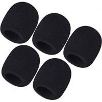 bk microphone windscreen black set of 5 microphone