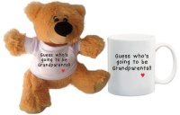 qtees africa guess whos going to be grandparents teddy bear