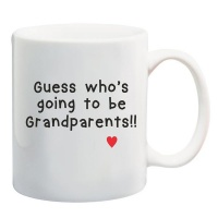 qtees africa guess whos going to be grandparents mug