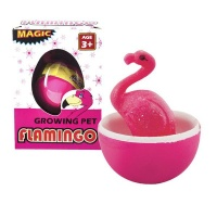 animals grow your own flamingo water toy