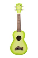 apple kala makala green burst dolphin ukelele guitar