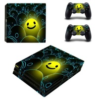 skin nit decal for ps4 pro happy face