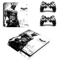 skin nit decal for ps4 slim batman arkham knight white