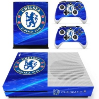 skin nit decal for xbox one s chelsea fc