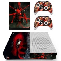 skin nit decal for xbox one s deadpool