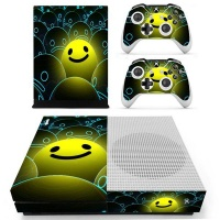 skin nit decal for xbox one s happy face