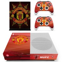 skin nit decal for xbox one s manchester united 2016