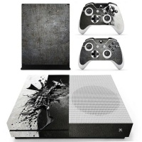skin nit decal for xbox one s metal design