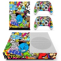 skin nit decal for xbox one s sticker bomb