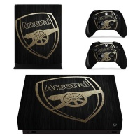 skin nit decal for xbox one x arsenal 2017