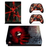 skin nit decal for xbox one x deadpool