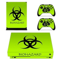 skin nit decal for xbox one x hazzard green