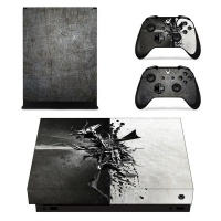 skin nit decal for xbox one x metal design