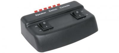 Photo of AV Link SSW2B 2-Way Loudspeaker Selector 50W - Black