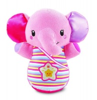 vtech baby snooze and soothe elephant pink decor
