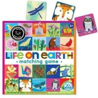 eeBoo Memory Matching Game Life on Earth