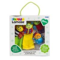 Lamaze Gardenbug Wrist Rattle Set