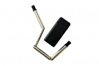 Dumar Trading Co Collapsible Reusable Stainless Steel Drinking Straw