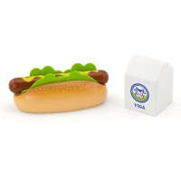 hot dog with milk play set pretend play