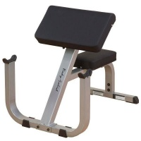 body solid seated preacher curl bench