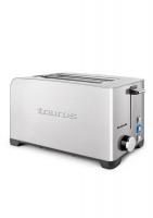 taurus 4 slice 1400w 5 heat toaster toaster