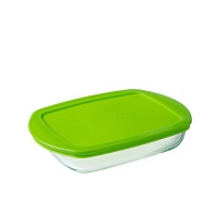 pyrex 16 litre cook and store shallow rectangular dish food storage