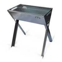 Megamaster 700 Stainless Steel Crossover Freestanding Charcoal Braai