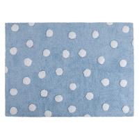 lorena canals dotty rug blue home decor