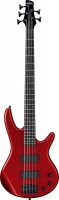 ibanez gsr325 5 string bass guitar candy apple red