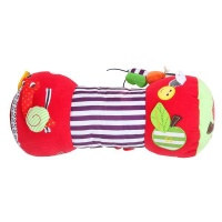 tummy time climb pillow for kids multi coloured pillowcase