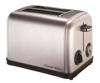 russell hobbs 950w 2 slice toaster silver toaster