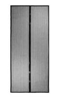 magnetic door screen black curtain