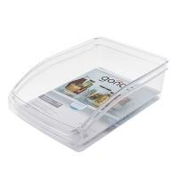 bulk pack x 5 basket fridge organizer 33x23x8cm
