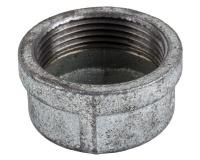 Agrinet Galvanised End Cap 25mm