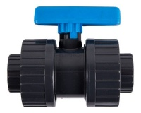 Agrinet Double Solvent Ball Valve 20mm Pipe Size 25mm