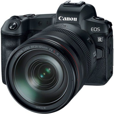 Photo of Canon EOS R Mirrorless Digital Camera with 24-105mm Lens